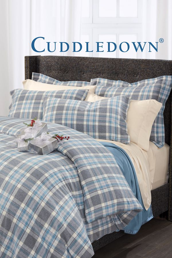 Newport Plaid Flannel Bedding Flannel Bedding Bed House Beds