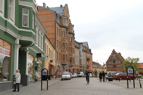 Following the Wallander Novels in Ystad and Malmo Sweden