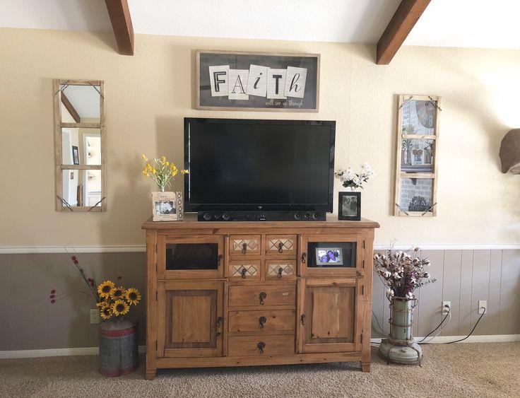 Diy farmhouse living room mirror decor 6 pack home depot