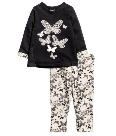 Butterflies top and Leggings| H&M US