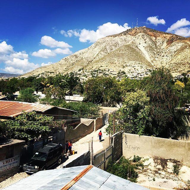 The #mountains of #Gonaives #haiti #soudehaiti  www.soudehaiti.org