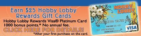 HOBBY LOBBY  http://www.hobbylobby.com/