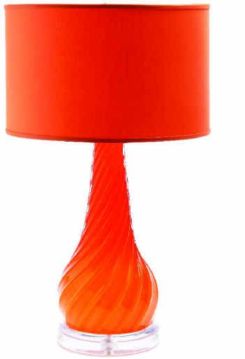 Murano glass lamp by Archimede Seguso