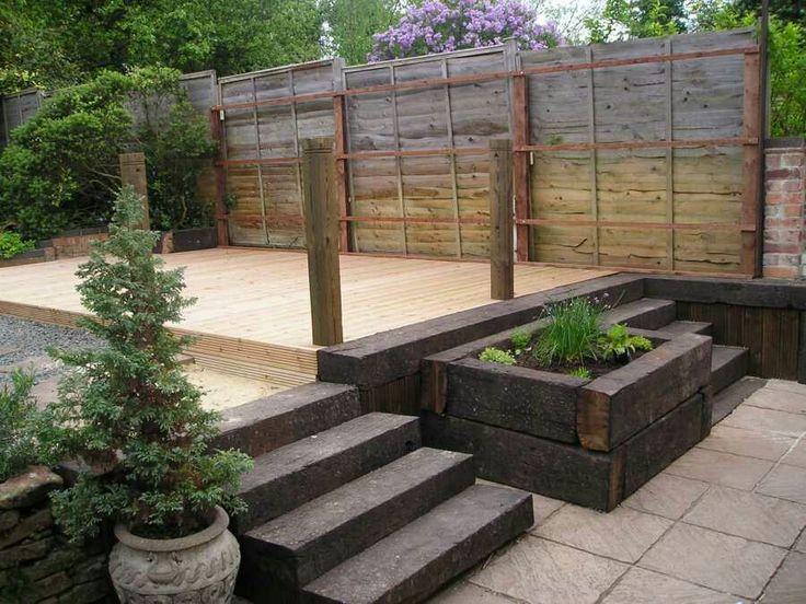Garden Ideas Railway Sleepers 18 best garden ideas images on pinterest | backyard ideas, garden