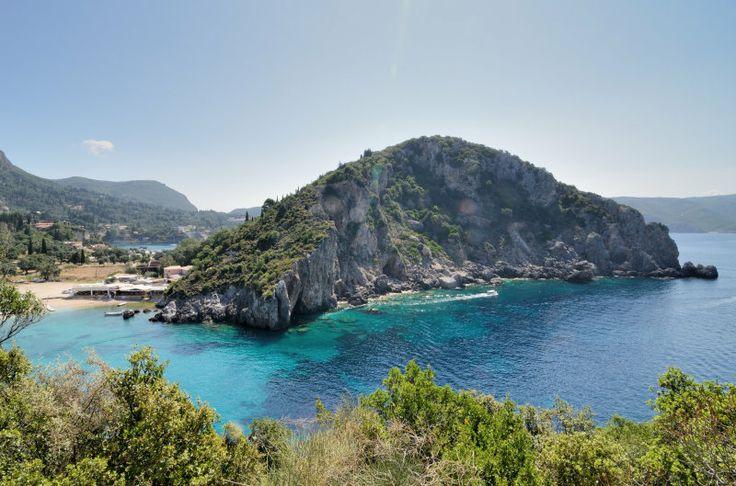 Paleokastritsa. Agios Spiridon Bay