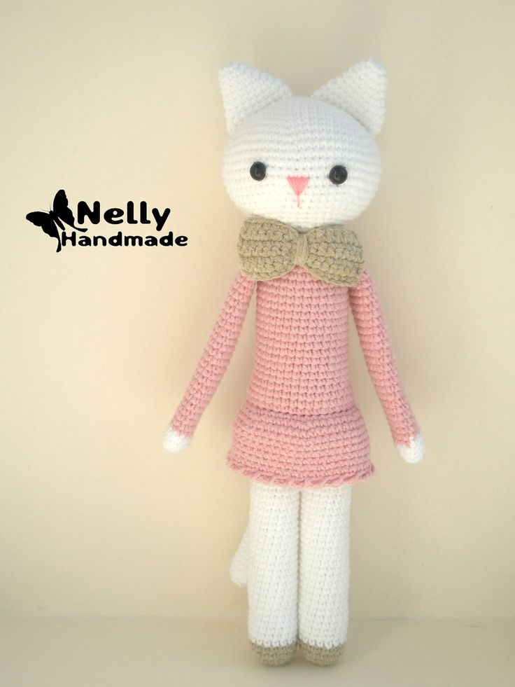 Ravelry: A Pretty Kitty pattern by Nelly Handmade