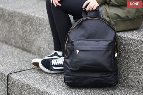 Mi pac All black backpack. Repost from mi pac taiwan.