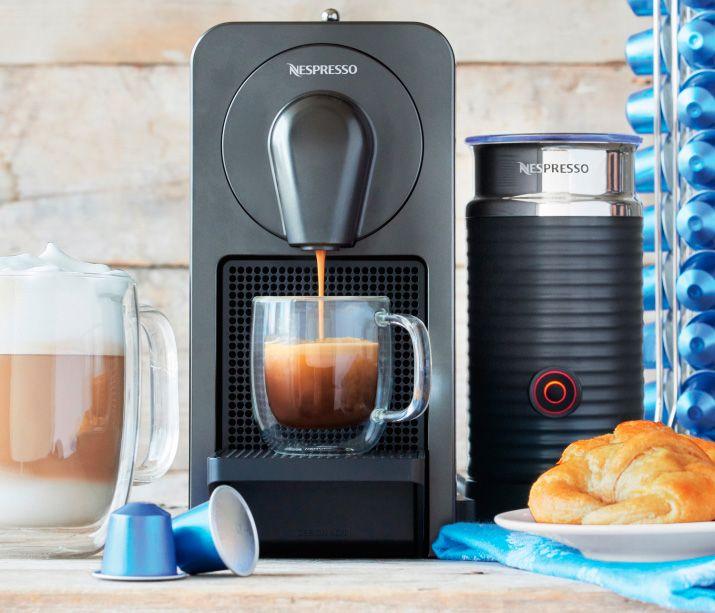 #Nespresso Prodigio la cafetera conectada al #movil  Dispositivos cafe iot smartphone tecnología