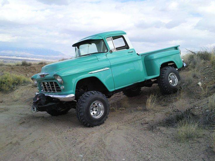 Sweet 57 Chevy pickup