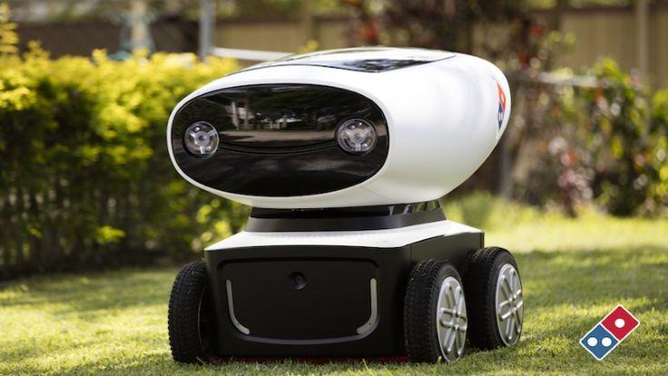 El nuevo robot de repartidor de Pizzas de    Domino´s
