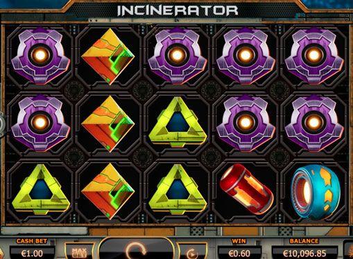 Spilleautomat Incinerator på nettet for penger med uttaket. Yggdrasil har alltid produserer tilpassede spilleautomater som virkelig kan tiltrekke seg oppmerksomheten til noen spillere. En av disse online spilleautomater er Incinerator. Denne enheten vil gi mange inntrykk fra spillet for ekte penger med en konklusjon, og la til å vinne store pengesummer,