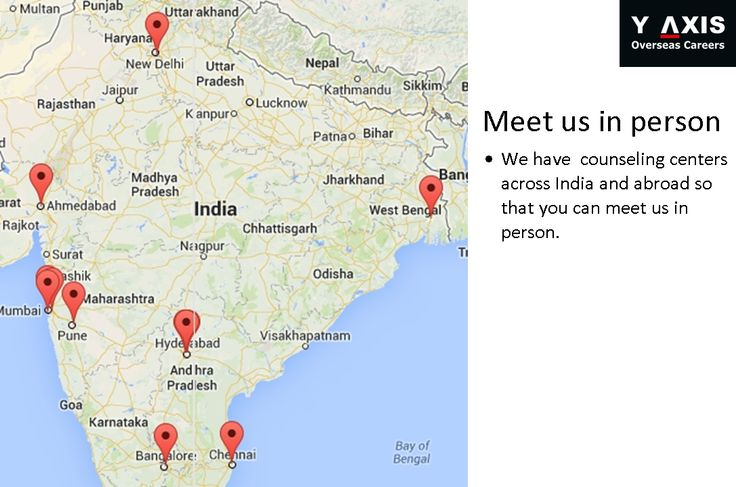 Meet us in person We have  counseling centers across India and abroad so that you can meet us in person.#YAxisCareerCounselling
