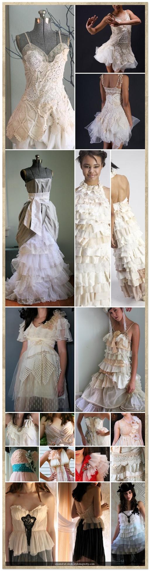 The Upcycled Wedding Dress!