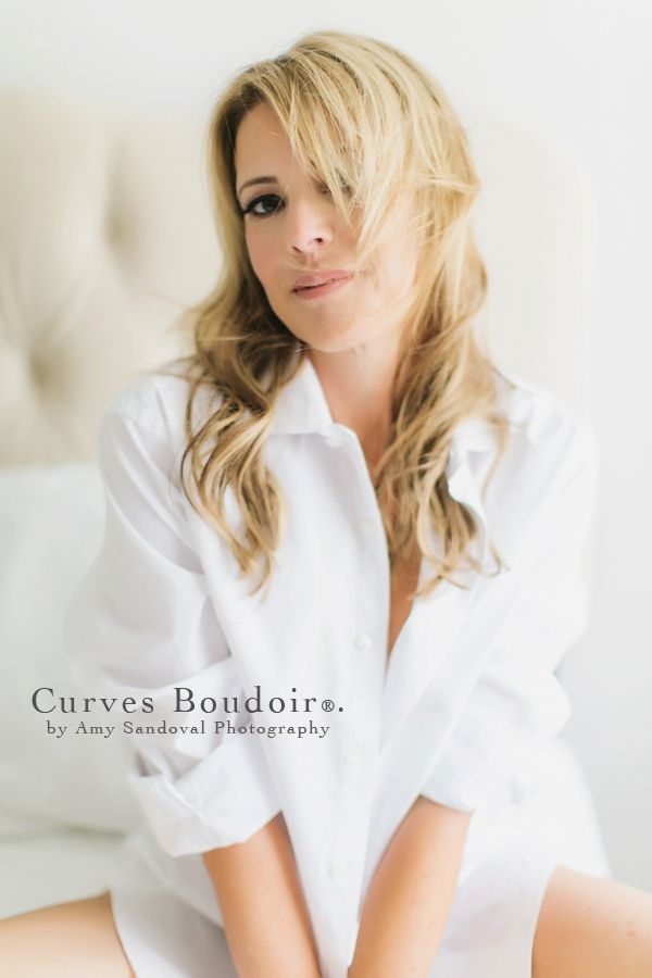 One A Day Curves Boudoir In His Shirt Boudoir