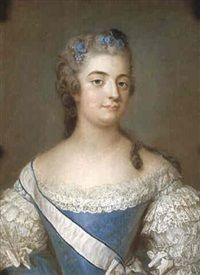 Comtesse Hedvig Catharina de La Gardie, Comtesse von Fersen (1732 - 1800).