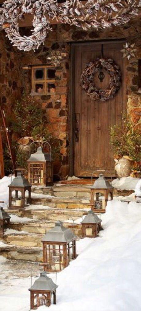 1000 images about decorations exterieur de noel on pinterest for Decoration exterieur noel sapinage