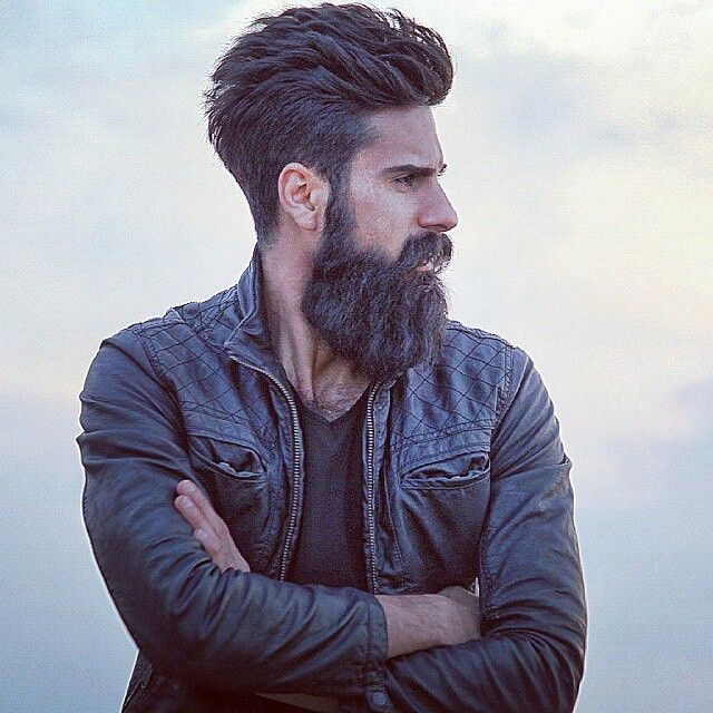 Magnificent 1000 Images About Manly Beards On Pinterest Short Hairstyles Gunalazisus
