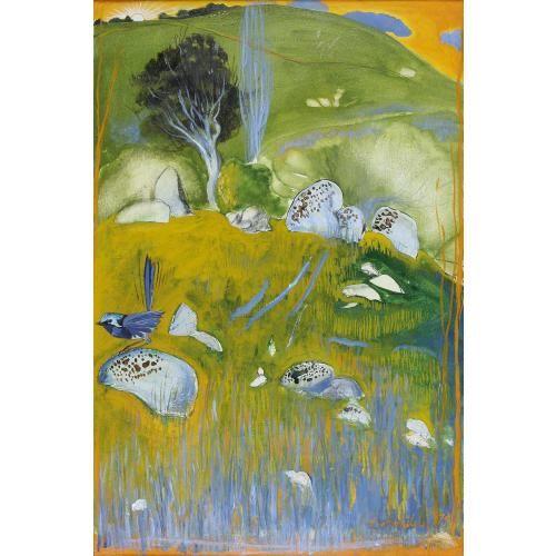 Blue Wren - Brett Whiteley