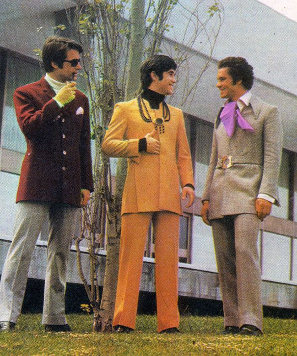 moda masculina años 70 , La verdad es que solo la recuerdo de las películas de
