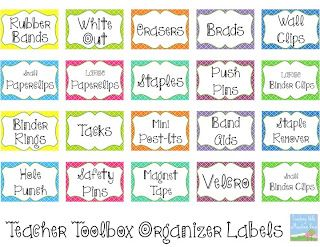 Teaching With a Mountain View: Teacher Toolbox Organizer...At last!