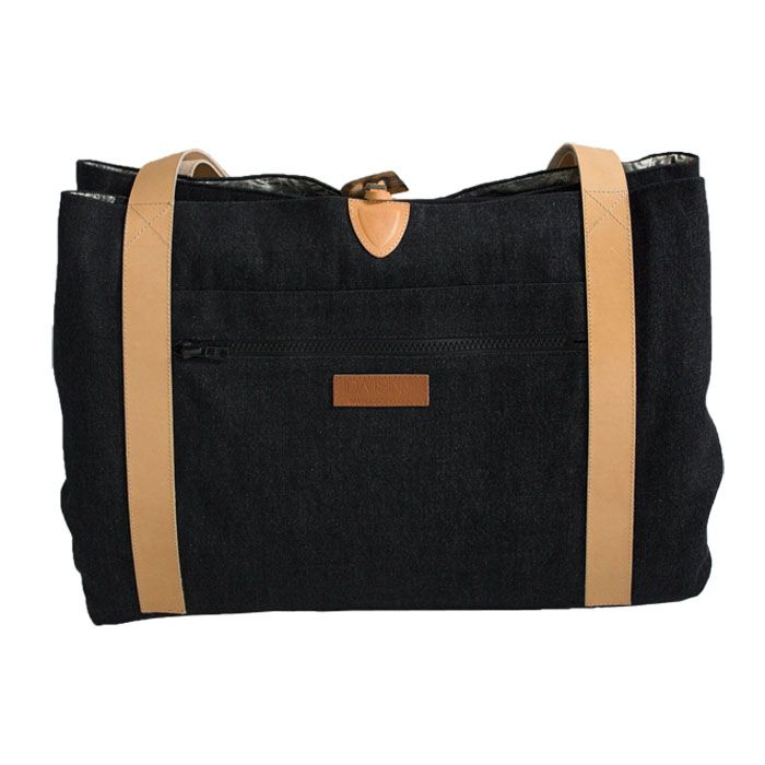 Style: Oak / Danish design - Changing Bag  Oeko-tex baby mattress inside www.idaising.com