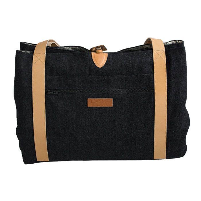 Style: Oak / Danish design - Changing Bag  Oeko-tex baby mattress inside www.idaising.com