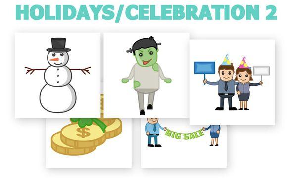 Check out Holidays Office Cartoons by truemitra on Creative Market http://crtv.mk/eNYa