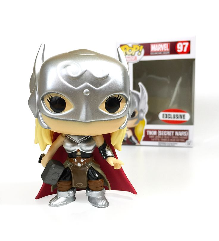 Funko Pop! Marvel Collector Corps #97 Lady Thor (Secret Wars) Marvel Collector Corps Exclusive www.collectorcorps.com