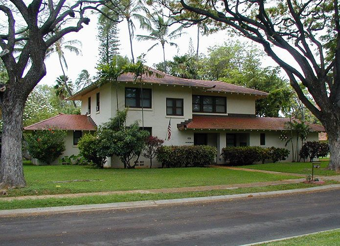 Preserving Historic Military Housing In Hawaii 1937
