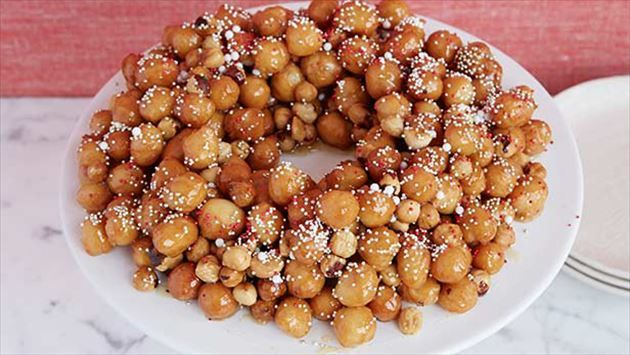 1000 ideas about struffoli recipe on pinterest italian for Feast of the seven fishes giada