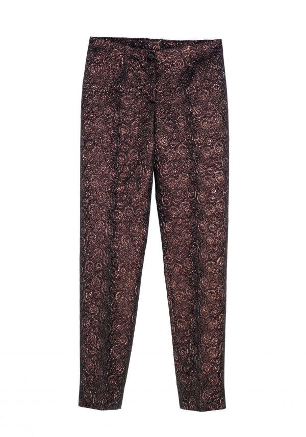 QL2 - MINA BROCADE STRAIGHT LEG PANT  (WHO, THE SINGER?) #women's #fashion
