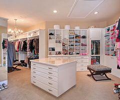 Walk-in closet...Umm yes please