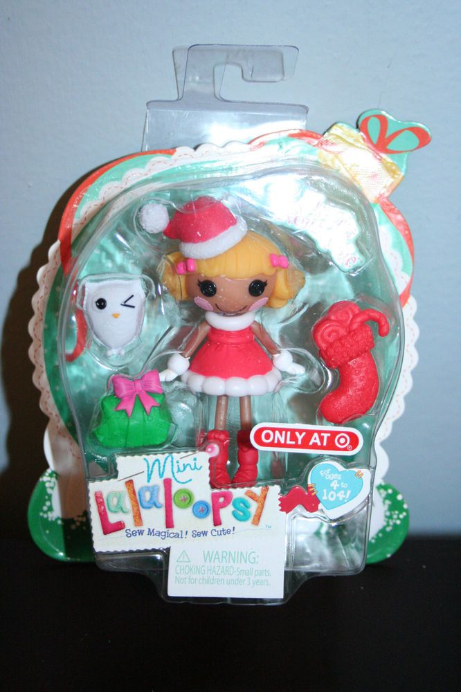 Mini Lalaloopsy Dolls Frozen Noelle Northpole 2014 Christmas Target  Exclusive