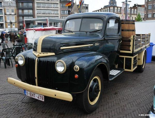 FORD Pickup 1943 1-EHT-478 St-NIKLAAS 20130623 (2)