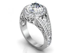 Custom Diamond Rings in Dallas : Custom diamond rings in Dallas, Texas : Wholesale diamond rings and loose diamonds for sale in Dallas, Texas.  972-750-0300