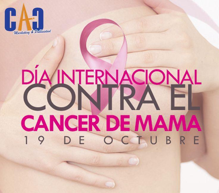 El Ministerio de Salud, a través de su página web, reveló que cada año mueren en Colombia 2.600 mujeres. Por ello, CAC Marketing & Publicidad se une a la campaña del día mundial contra el cáncer de mama. #19deOctubre #Díainternacionalcontraelcáncerdeseno