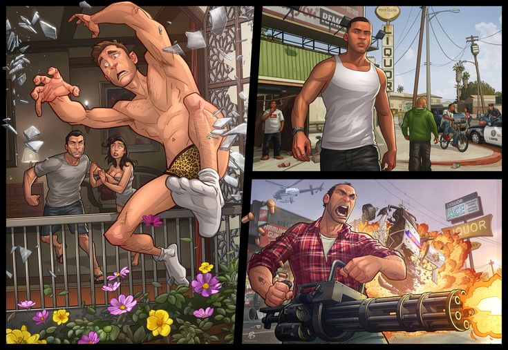 Check out this amazing Grand Theft Auto V fan art made by the talented artist: Patrick Brown. Don't forget, we did a interview with Patrick Brown recently! Click the image to read the Patrick Brown interview.