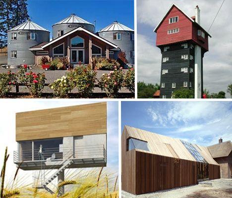 Les 281 meilleures images du tableau tiny houses prefab for Silo house kit