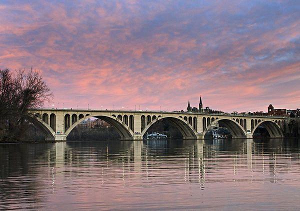 Key bridge over the Potomac River;  Washington D.C- great memories of the W-L crew dances at Potomac boat club