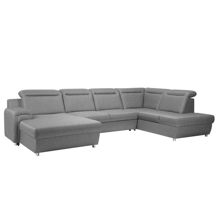 Wohnzimmer Sofa Mit Schlaffunktion. sit\\more ecksofa grau, langer ...