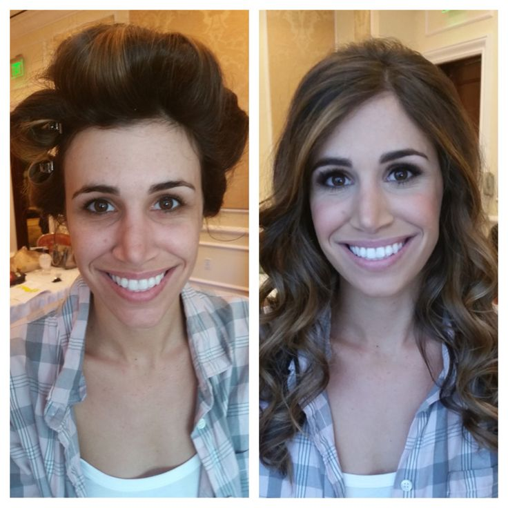 Before and After Transformation | #Makeup and #Hair by Elite ...