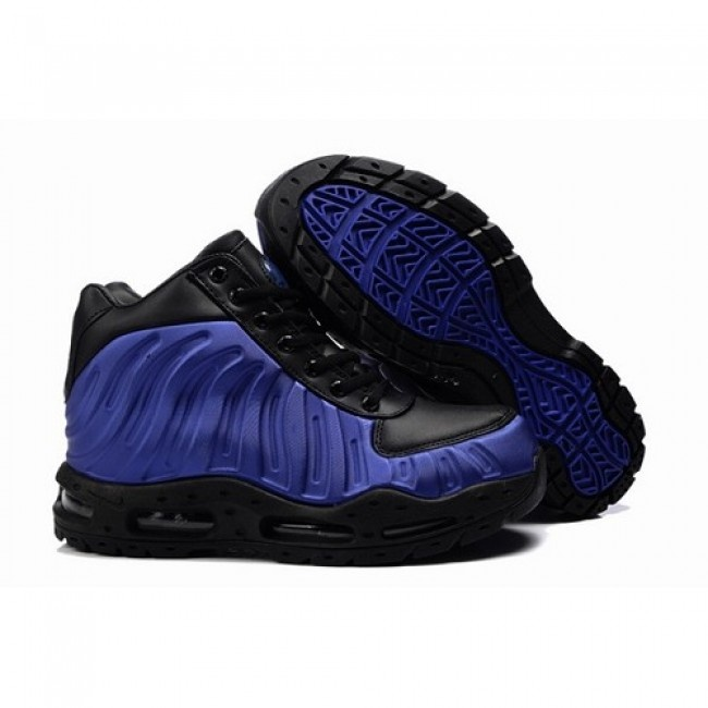 Best Seller Nike ACG Air Foamposite Men Boots Black/Blue Sapphire 1014  $63.90 http: