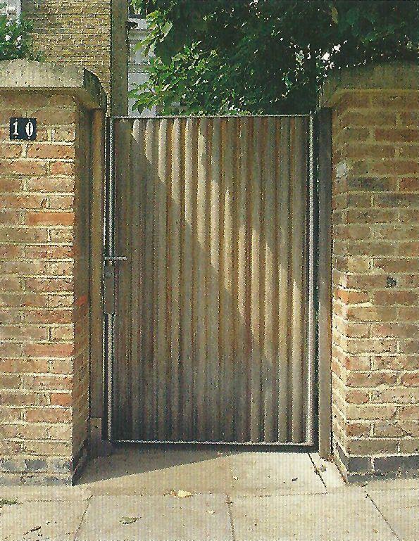 Wood Gate Mcgregor House David Adjaye Doors Windows
