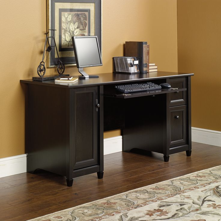 99+ Black Desk with File Drawer - Furniture for Home Office Check more at http://www.sewcraftyjenn.com/black-desk-with-file-drawer/
