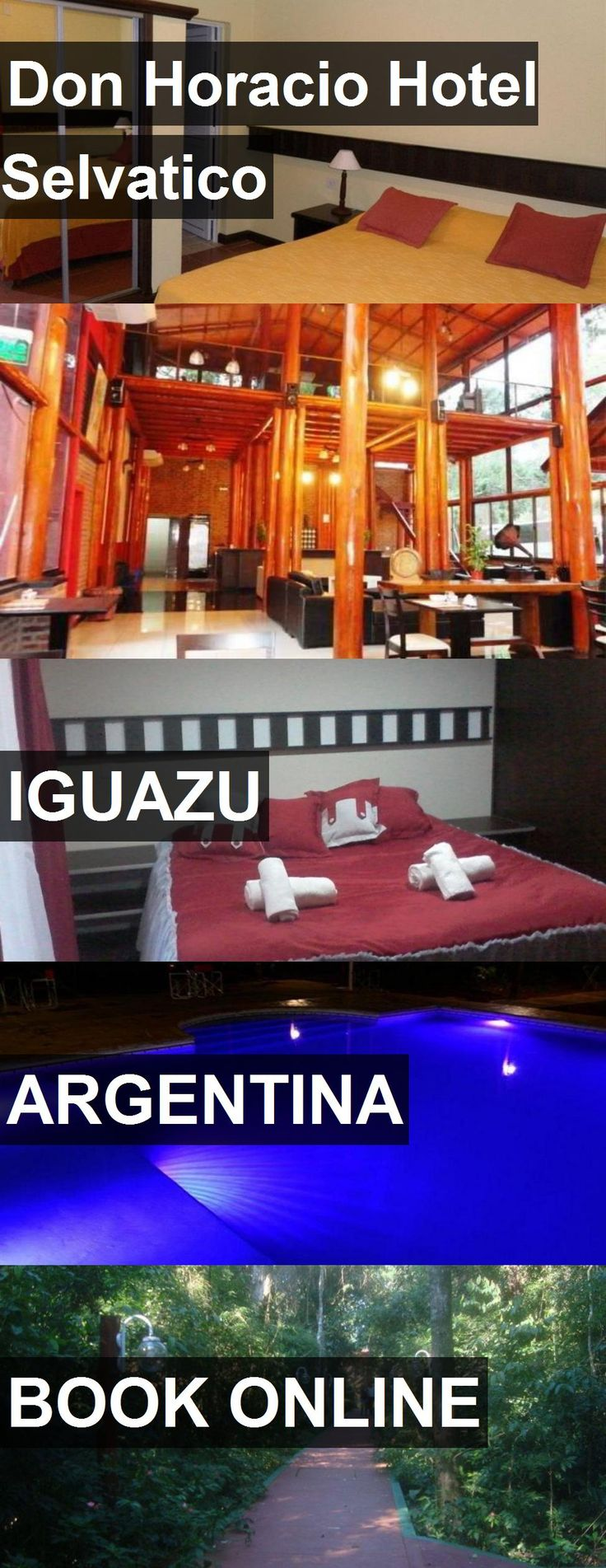 Don Horacio Hotel Selvatico in Iguazu, Argentina. For more information, photos, reviews and best prices please follow the link. #Argentina #Iguazu #travel #vacation #hotel