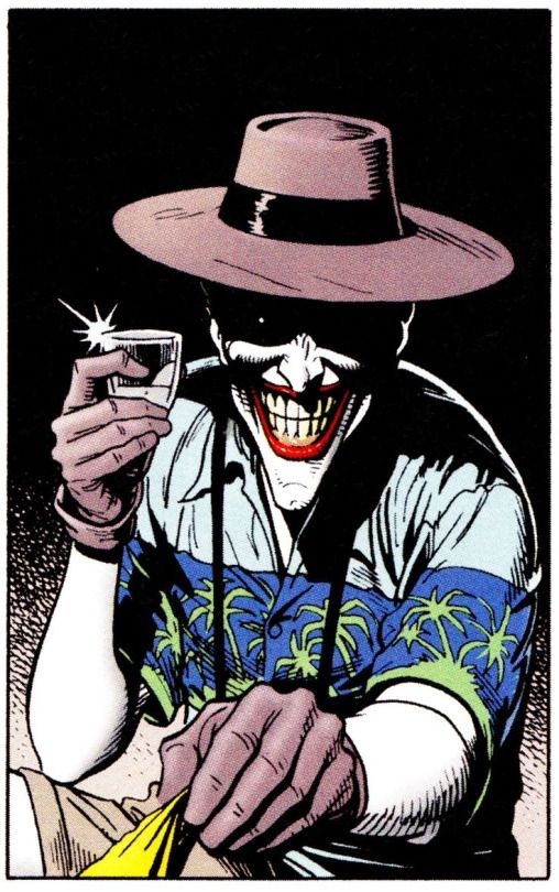 Joker by Brian Bolland  THE KILLING JOKE (Mach 1988)