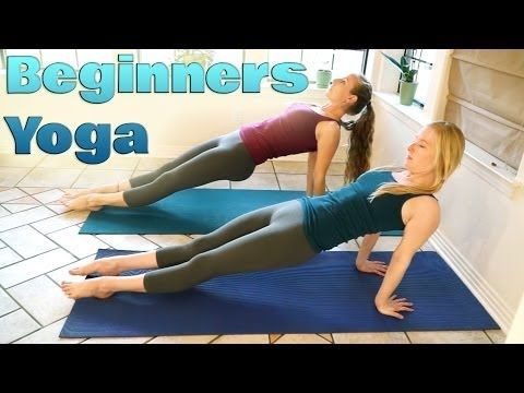Yoga For Complete Beginners Part 2 - Relaxation & Flexibility Stretches 10 Minute Yoga Workout - YouTube