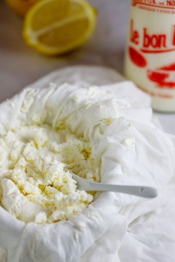 Home-made Ricotta cheese
