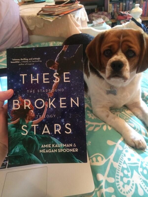 @Hayley Morris: Yay! Look what I have in my hot little hands! @Meagan Spooner @Amie Kaufman (I think Meela wants to read it, too.)