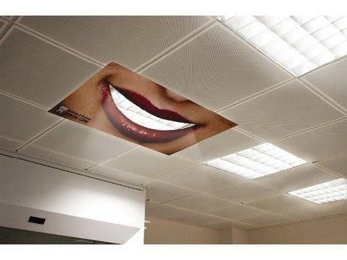 [Advertentie] Tandheelkundige zorg. Gevonden op: Twitter.com/Brilliant_Ads.